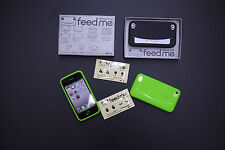 Genuine Feed Me Silicone Rubber Case Cover iPhone 4 4s FeedMe Credit Card Holder