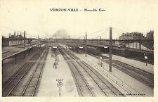 Vierzon-Ville, Nouvelle Gare, Bahnhof, alte Ansichtskarte