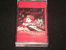 RED HOT CHILI  ONE HOT MINUTE  Sealed Audio Cassette ~Made in Canada
