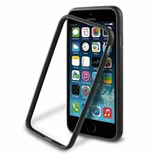 Muvit Ibelt Paragolpes Estuche Negro Para Apple iPhone 6 Plus/6S Plus