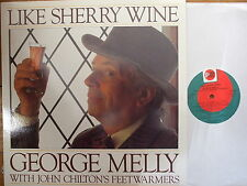 N 140 George melly with John Chilton's Feetwarmers - Like Sherry Wine - 1981 LP