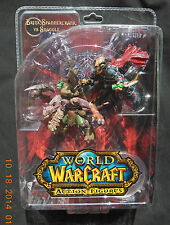 DC DIRECT WORLD OF WARCRAFT BRINK SPAMERCRANK VS SNAGGLE ACTION FIGURE SET! NEW