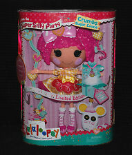 Lalaloopsy SILLY Super partito LIMITED EDITION briciole zucchero Cookie Large Doll NUOVO CON SCATOLA