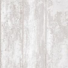 Grandeco Luxury Wood Panel Effect Vinyl Coated Textured  Wallpaper VOA-006-01-6