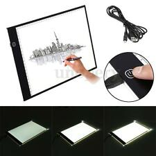 A4 Dimmable LED Ultra Slim Art Craft Stencil Tracing Tattoo Light Box Pad Board