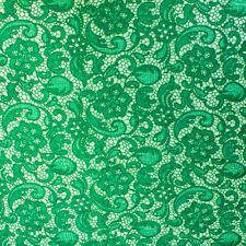 Venice Embroidered Lace Fabric French Guipure Lace by the Yard