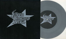 "Silver Tongued Devil - Motorcycle Boy 7"" SILVER VINYL Antiseen Hookers Zeke Punk"