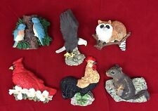 Lot 6 Animals Birds Kitchen Refrigerator Fridge Magnets