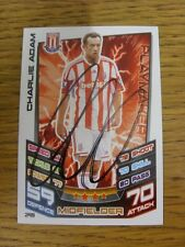 2012/2013 Autograph: Stoke City - Adam, Charlie [Hand Signed 'Topps Match Attax'