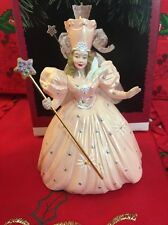 Wizard Of Oz Christmas Hallmark Keepsake Glinda The North Witch Ornament  In Box