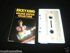 RICKY KING GOLDEN GUITAR COLLECTION AUSTRALIAN CASSETTE TAPE