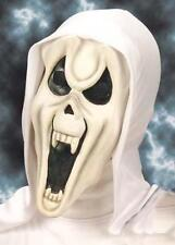 Per Bambini Bianco Fantasma Scream MASCHERA MOSTRO HALLOWEEN FANCY DRESS