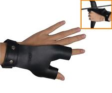 Archery Protect Glove Gear Finger Hand Guard for Archery Bow Shooting Hunting