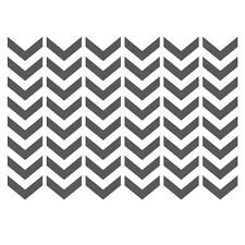 Chevron Stencils Template -small scale- for Crafting furniture DIY Wall decor #2