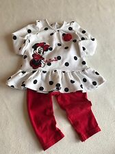 Baby Girls Clothes 6-9  Months - Pretty Disney Minnie  Outfit -
