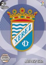 N°421 ESCUDO BADGE LOGO # XEREZ.CD CARD PANINI MEGA CRACKS LIGA 2007