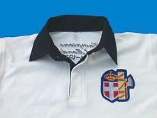Polo manica corta CAMPIONI DEL MONDO 1934-38 RUGBY Avana maglia ITALIA SAVOIA
