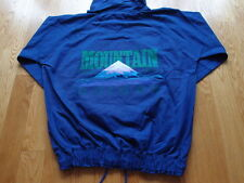 Vintage 80s Deadstock Sample Adidas Mountain Official Guide Pullover Jacket