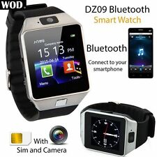【DZ09】Bluetooth Smart Watch Phone-Mate unterstützt GSM SIM für Android iPhone