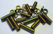 (Mixed Lot) 1/8IPS Nipples, Nuts and Washers  - standard lamp size fittings.