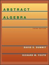 ABSTRACT ALGEBRA, , DUMMIT, D FOOTE, RICHARD M., Very Good, 2003-01-01,