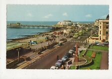 Worthing Marine Parade West Old Postcard 451a