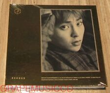 EXO EXODUS KOREAN VERSION 2ND ALBUM XIUMIN CD + PHOTOCARD + POSTER IN TUBE CASE