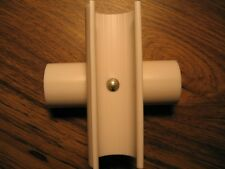 "4"" SNAP CROSS for 1/2"" PVC Pipe 4pk - to secure cross sections of PVC/EMT #261"