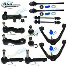 Brand New 13pc Complete Front Suspension Kit Control Arm Set for Chevy/GMC/H2