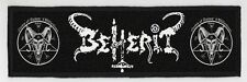 BEHERIT SUPERSTRIP PATCH / SPEED-THRASH-BLACK-DEATH METAL