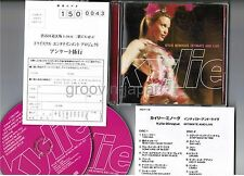 KYLIE MINOGUE Intimate & Live JAPAN 2CD set w/POSTCARD+24-p BOOKLET TNCP-17~18