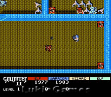 Gauntlet II 2 - NES Nintendo Classic Fun Game