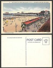 Old Postcard - Atlantic City, New Jersey - Steel Pier, a Vacation in Itself