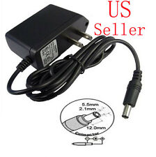 AC Converter Adapter DC 9V 1A Power Supply Charger US plug 5.5mm x 2.1mm 1000mA