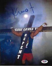 Kimo Leopoldo Signed Infamous Cross 8x10 Photo PSA/DNA COA Picture UFC Autograph