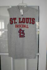 St. Louis Cardinals MLB Majestic Sleeveless Tee - Mens Size Small    Nice!