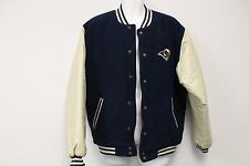 Mens Vintage NFL Gameday St Louis Rams Jacket M Two Tone