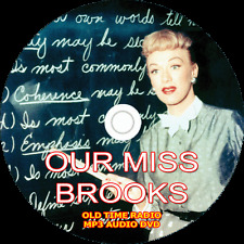 *Our Miss Brooks* Old Time Radio Shows - 187 MP3s on DVD