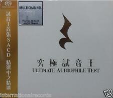 """Ultimate Audiophile Test"" Made in Japan Multi-Channel Hybrid SACD CD New Sealed"