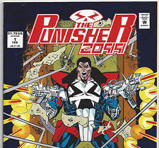 Punisher 2099 #1 Cool Blue Foil Cover from Feb. 1993 in NM- Condition DM