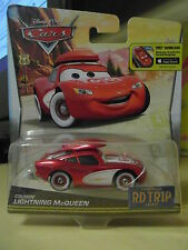 Disney Pixar Cars Road Trip Route 66 Lightning Mcqueen Mattel 1.55 Scale BNIB