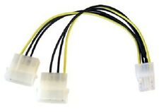2 Molex to 6 Pin PCI Express PCI-E Graphics Card Power Cable Adaptor