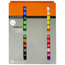 Daler Rowney Simply Acrylic Paint Set - 24 Tubes