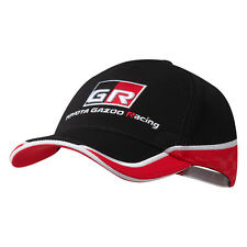 Toyota Gazoo Racing Team Cap Red Black Hat Headwear