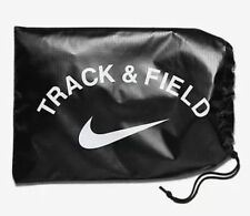New NiKE Track Field Sprint Running Spikes Shoes Black Nylon Carrying Bag