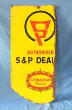 Vintage Old RALEIGH CYCLE Spares & Parts Dealer's porcelain Enamel sign Replica