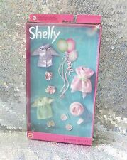 Barbie Shelly Mattel 25754 OVP Retro Vintage Kelly Birthday Party SET 2001 NEW