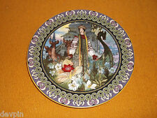 RUSSIAN LEGEND OF THE SCARLET FLOWER BRADFORD PLATE BYLINY THE ENCHANTED GARDEN