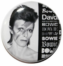 "1"" (25mm) DAVID BOWIE Button Badge Pin - High Quality Custom Badge"