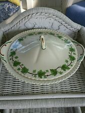 Harker Royal Gadroon Ivy Covered Vegetable Serving Dish